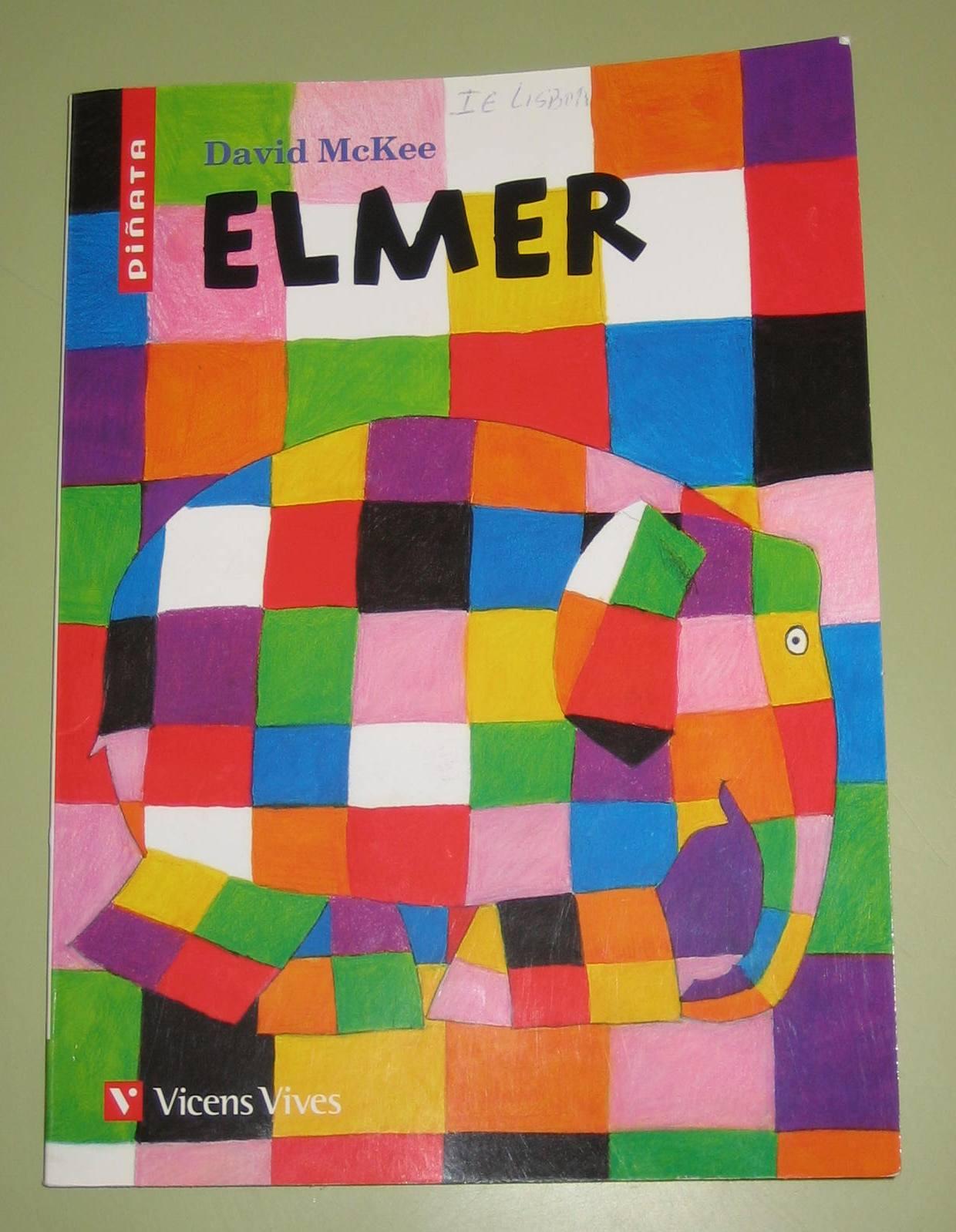 peques del giner : Elmer, el elefante de colores