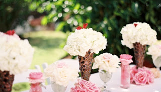 ice-cream table decoration