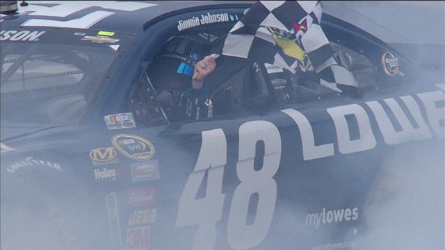 Jimmie Johnson se impuso en Daytona