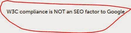 Pengaruh Template Blog Valid HTML terhadap SEO & Indeks Google