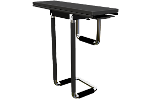 Swiveling CPU Holder