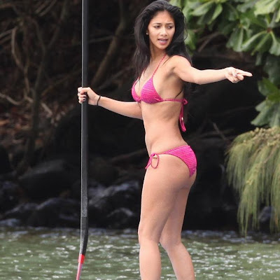 Nicole Scherzinger Bikini Pics