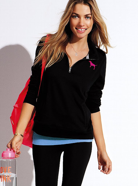 Jessica Hart for VS Pink, December 2012