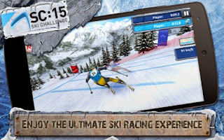 Screenshots of the Ski challenge 15 for Android tablet, phone.