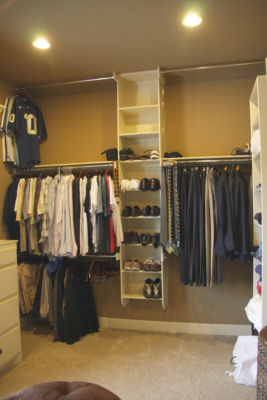 spring cleaning: mommy's closet
