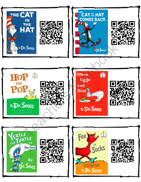 http://www.teachersnotebook.com/product/acolwell/dr-seuss-read-aloud-qr-codes
