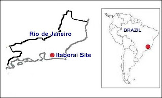 Itaborai Basin Brazil Map