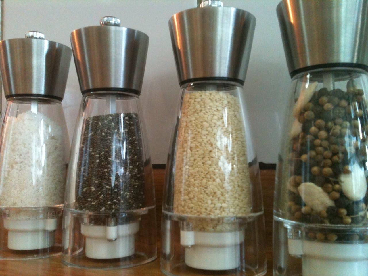 moler semillas