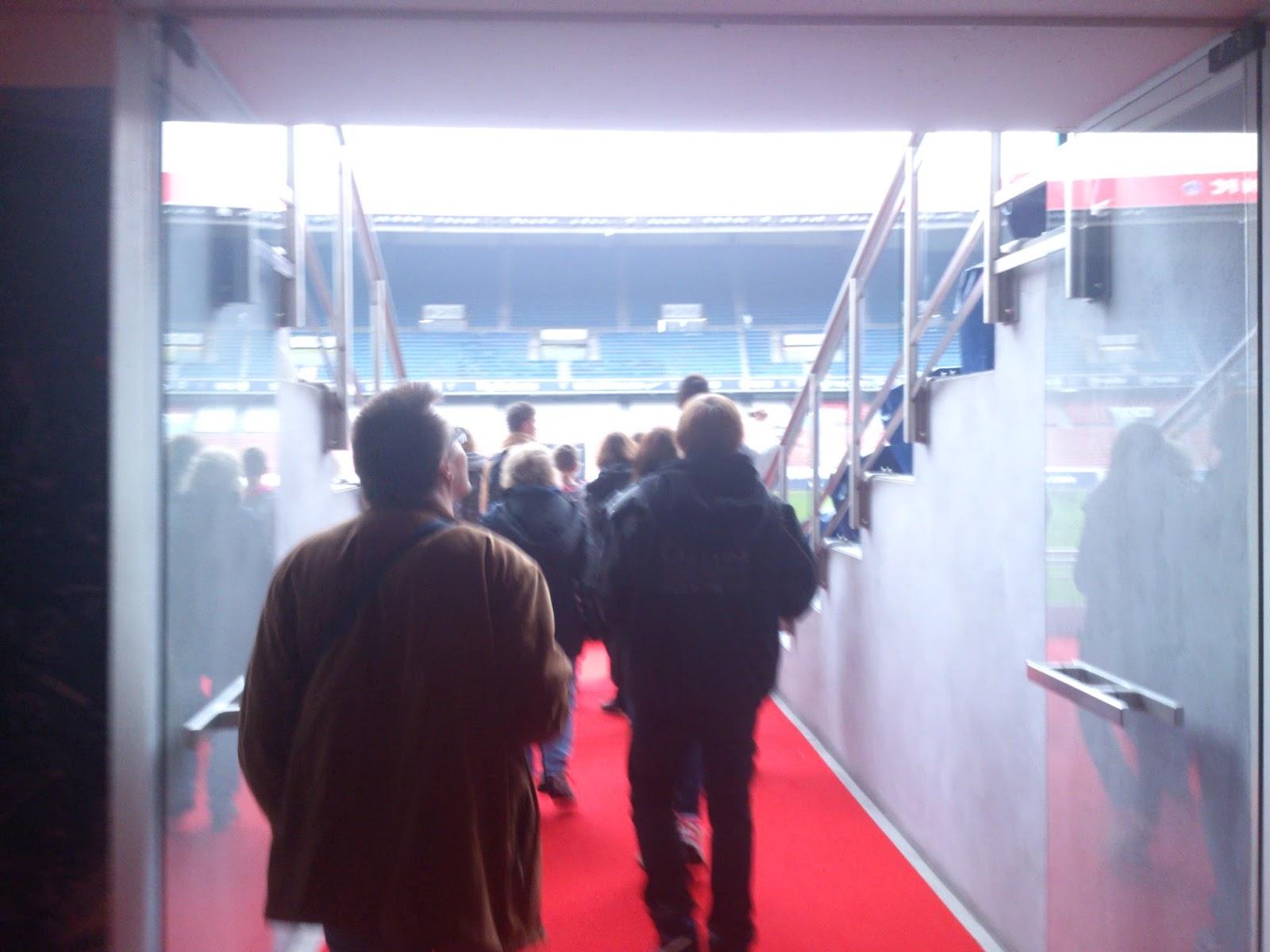 [写真] パリ・サンジェルマンFCのパルク・デ・プランス見学ツアー