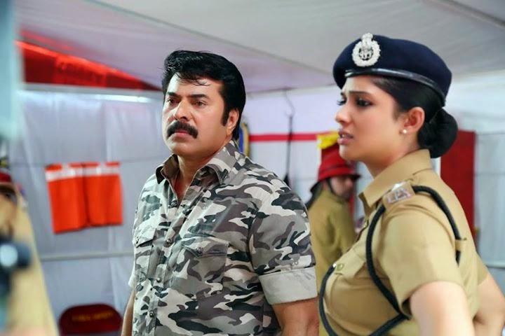 Nyla mammootty in Fireman reports