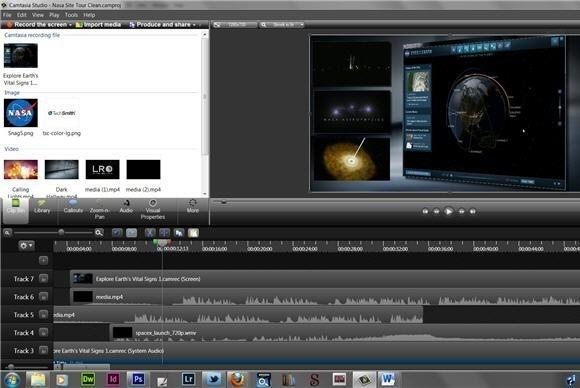 Camtasia Studio 8 Screenshot