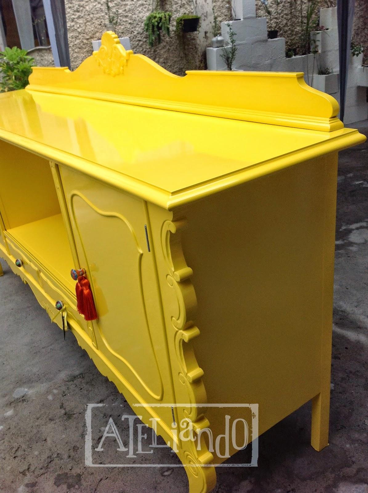 Ateliando Customização de móveis antigos: Buffet Antigo Josi #C2A709 1195x1600