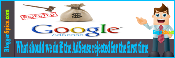 AdSense rejected