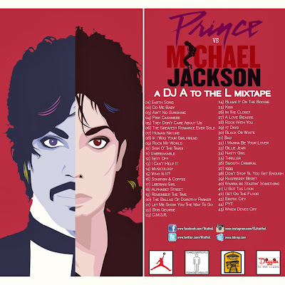 DJ A to the L - Prince Vs Michael Jackson The Mixtape