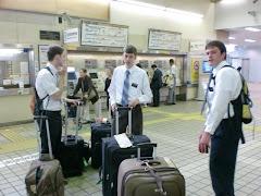 Saying goodbye to Tokyo missionaries