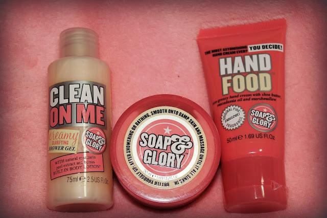 Beauty Blogger Secret Santa Soap & Glory