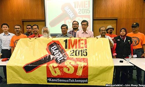#BatalGST alu-alukan kehadiran Mahathir