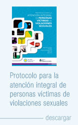 PROTOCOLO PARA LA ATENCIÓN INTEGRAL A VÍCTIMAS DE AGRESIONES SEXUALES