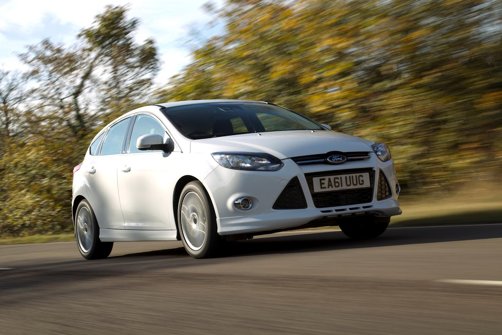 2012 ford focus zetec s front side 2012 ford focus zetec s