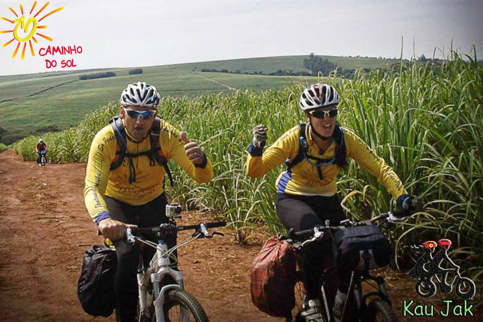 Caminho do Sol de Bike - By Kau Jak