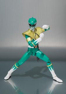 Bandai SH Figuarts Power Rangers Green Ranger Figure