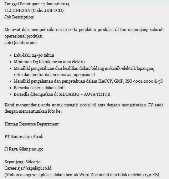 nfo-loker-sidoarjo-januari-terbaru-2014