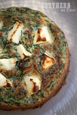 Southern In-Law: Recipe: Spinach and Feta Bake