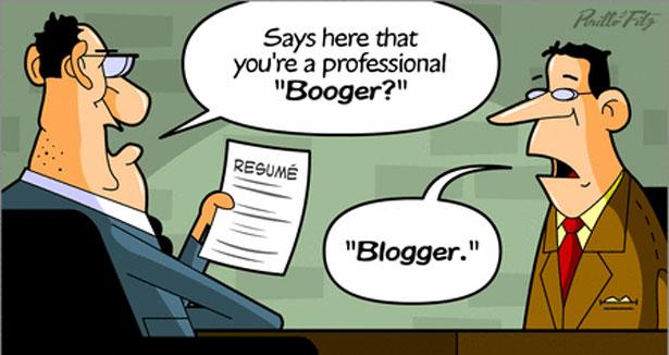 Bisa jadi Blogger itu Bersyukur