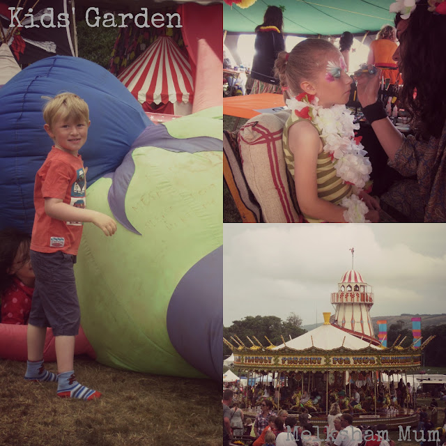 Camp Bestival 2013 - Kids' Garden