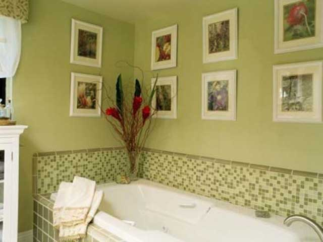 Bathroom wall decor for Bathroom ideas for walls