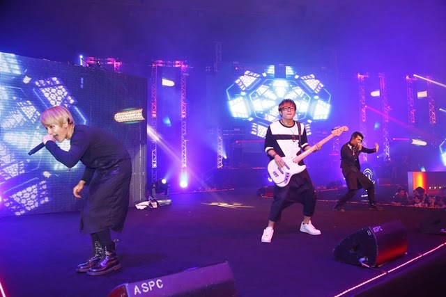 Stellar performances by the pop/EDM band from Taiwan, Magic Power