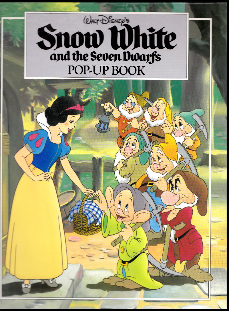 Snow White Book Cover : Filmic light snow white archive pop up book