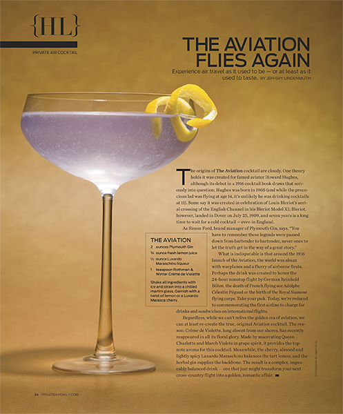 pinkpagodastudio: The Aviation Cocktail