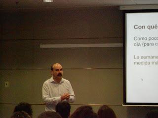 "Iker Merchán - Jornada: ""Lo esencial del email marketing"" - Imagen propia"