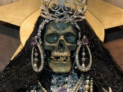 The weird attraction of the skeleton saint