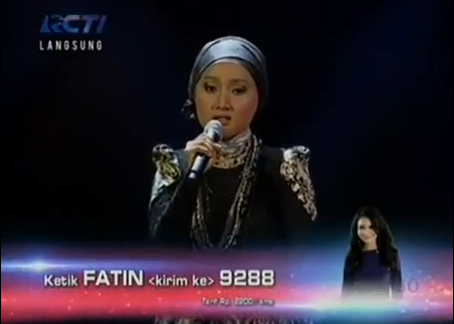 Fatin Shidqia Lubis - Rumour Has It (Adele) | X Factor Indonesia Gala Show 22 Februari 2013