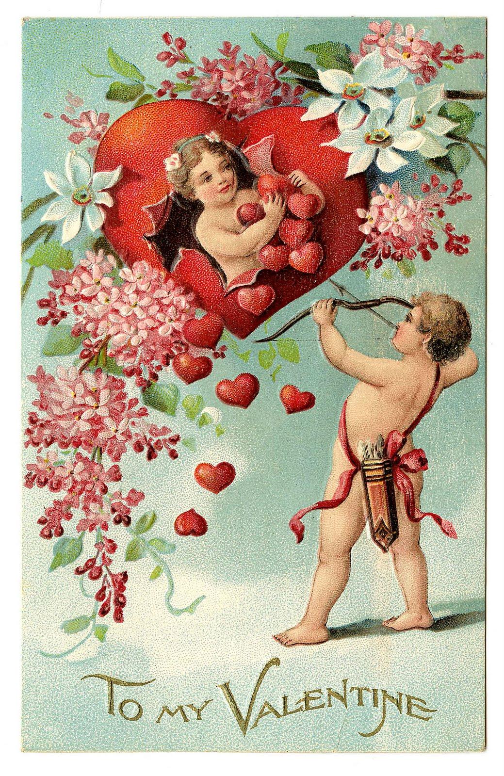 Vintage Valentine Card 74
