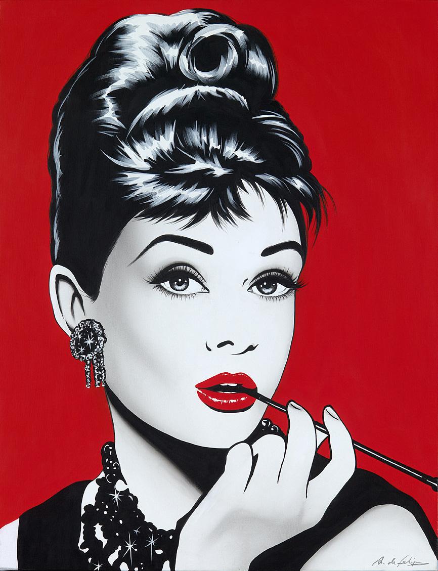 Un popurri de arte y moda la chica de la ciudad - Audrey hepburn cuadros ...