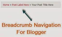 breadcrumb blogger seo eklentisi