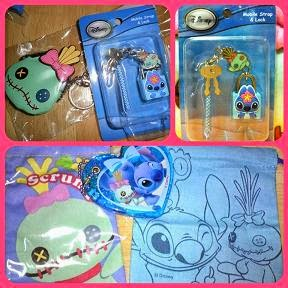 Stitch + Scrump's Purse / Lock+Keys / Miiror+Pouch