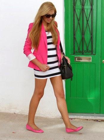 model blazer wanita