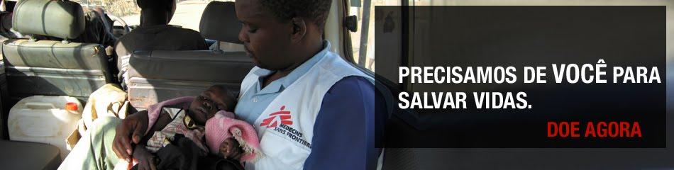 Ajude os Médicos Sem Fronteiras
