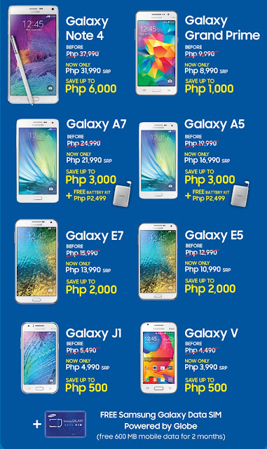 The Great Samsung Sale, Get Up To Php6,000 Worth Of Discounts