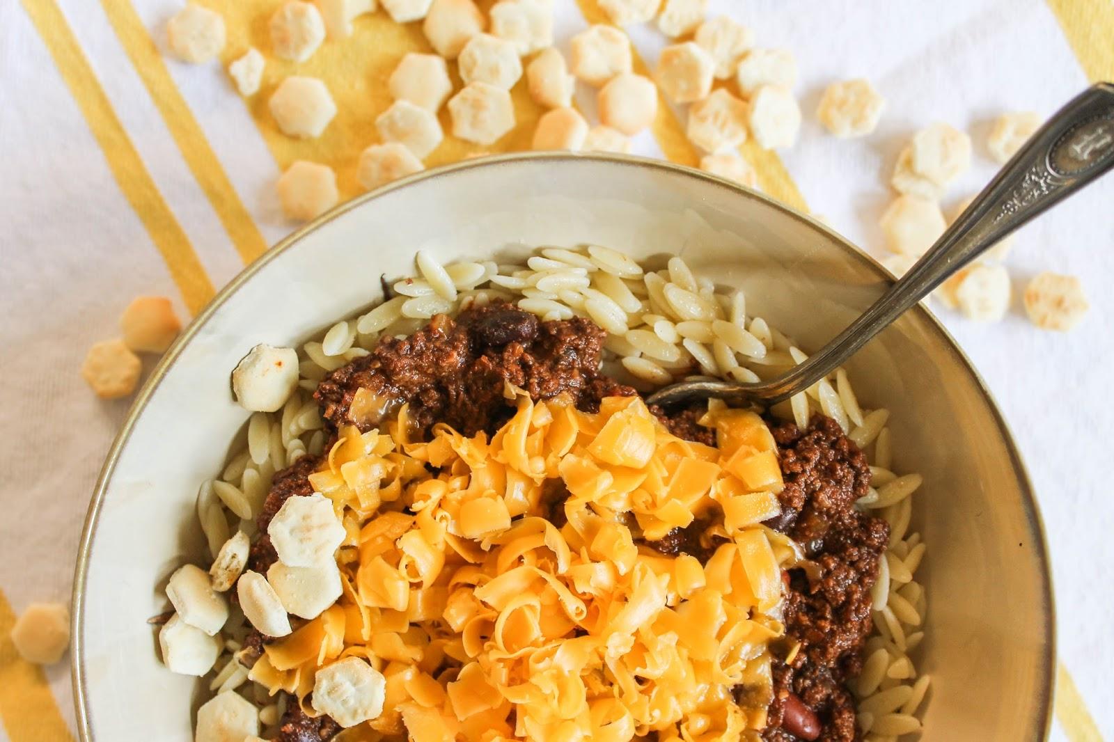 Recipe adapted from Dax Phillip's Cincinnati Chili