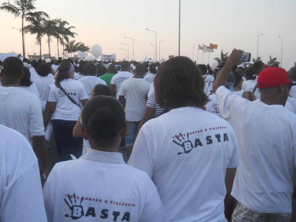 Marcha CONTRA-VIOLÊNCIA (Part. 2)