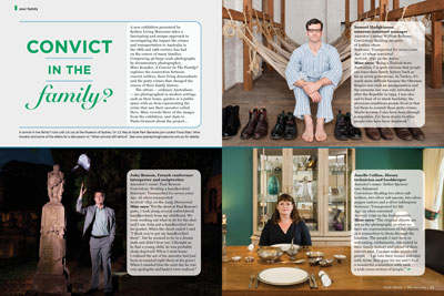 Issue 16 :: Convict in the Family