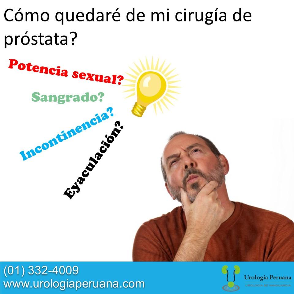 operacion de prostata agrandada