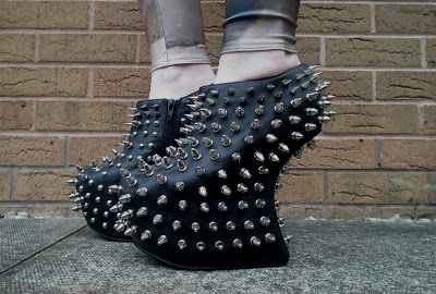 Jeffrey Campbell Shaddow Stud boots