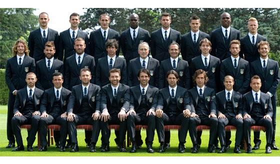 Dolce&Gabanna viste a la selección italiana