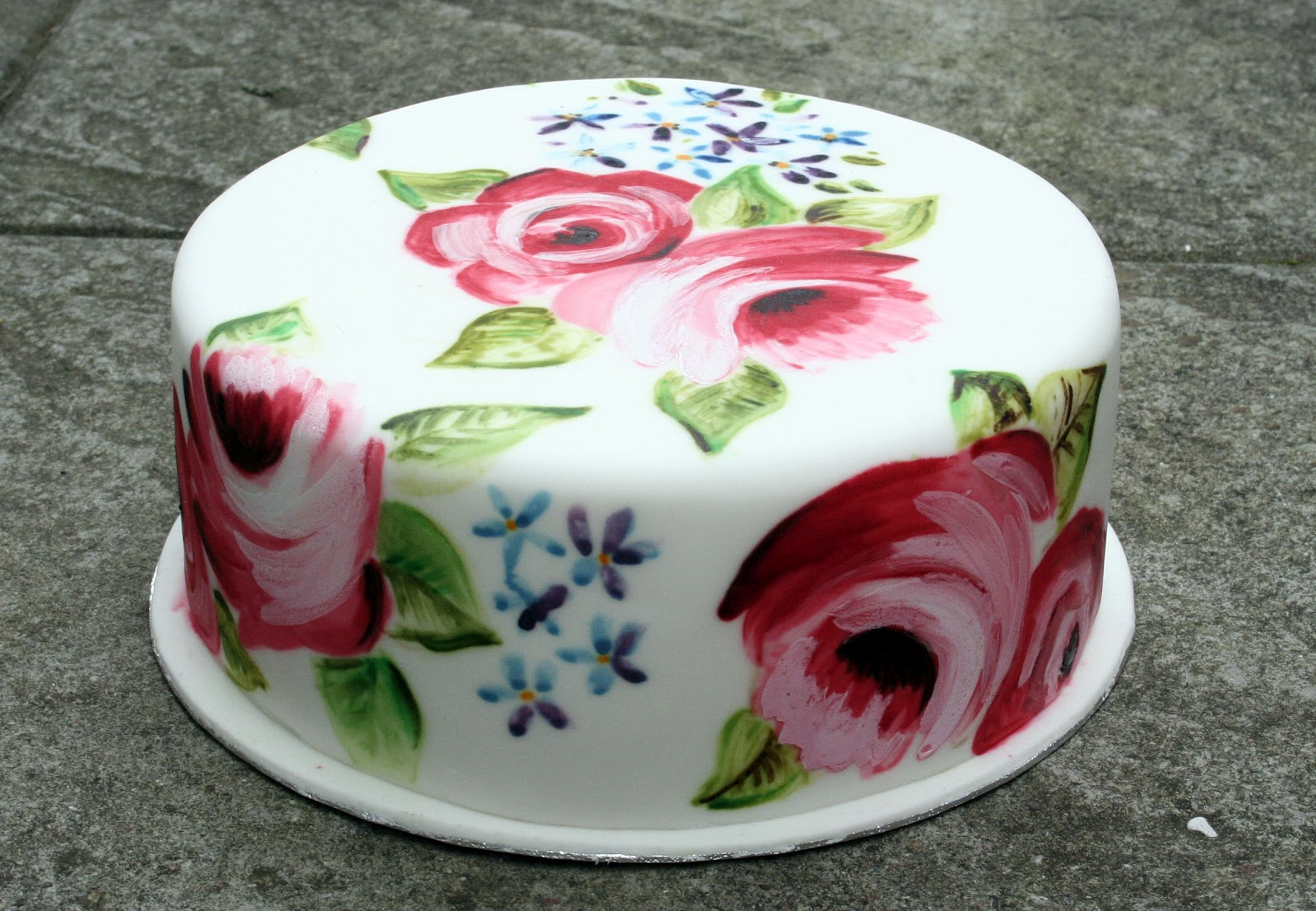 Cake Decorating Painting Icing : Dann Good Cake: Cake Painting Course